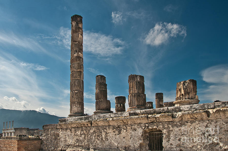 Temple Of Jupiter Photograph