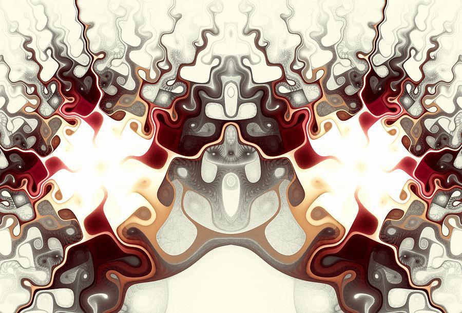 Interior Digital Art - Temple Of Light by Anastasiya Malakhova