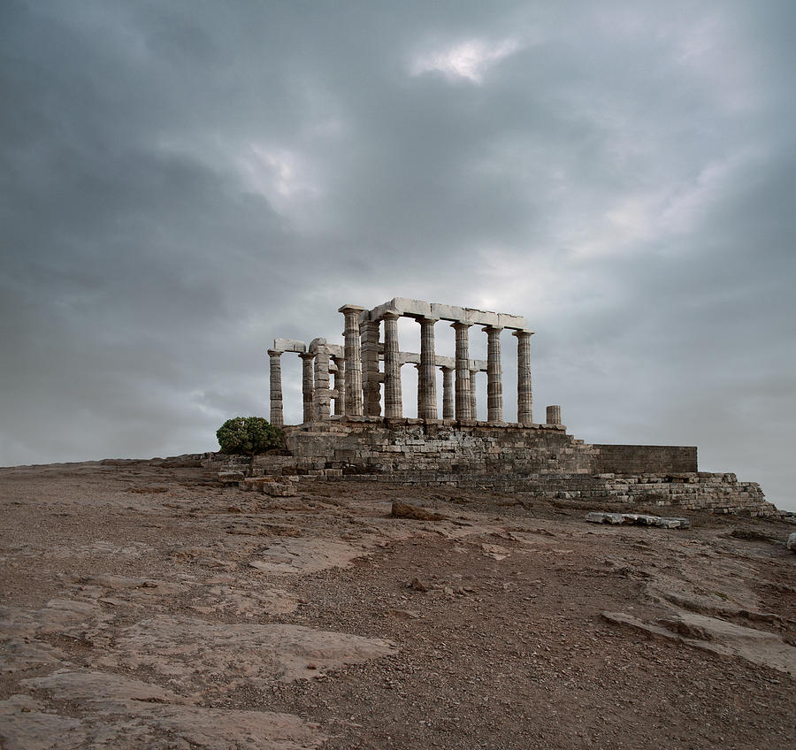 Temple Of Poseidon At Sounion, Greece Photograph by Ed Freeman