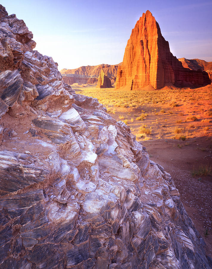 Capitol Reef National Park Photograph - Temple Of The Sun by Ray Mathis