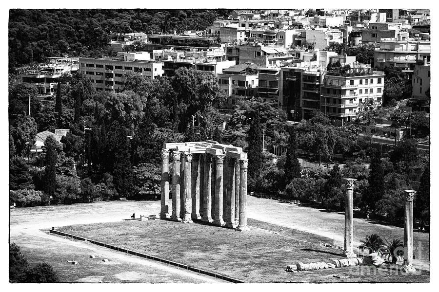 Ruins Photograph - Temple Of Zeus II by John Rizzuto