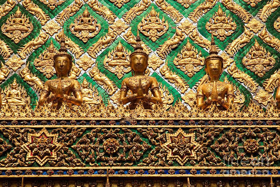 Temple Thailand Buddhist Bangkok Architecture Art Photograph by JM Travel Photography