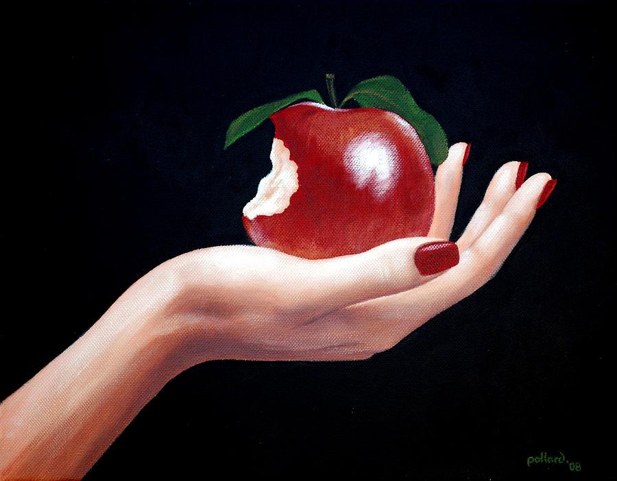 Adam Painting - Temptation I by Glenn Pollard