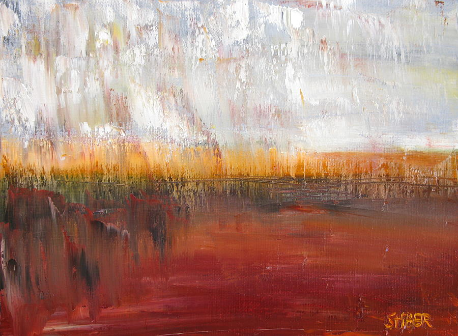 Abstract Painting - Temptation by Kathy Stiber