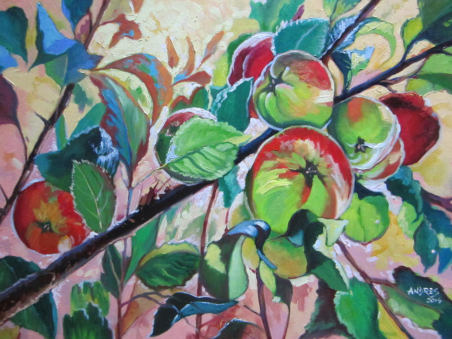 Eve Painting - Temptation Of Eve by Andrei Attila Mezei