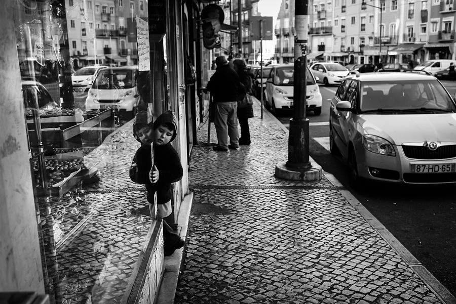 Street Photograph - Temptations by Pace Freeman