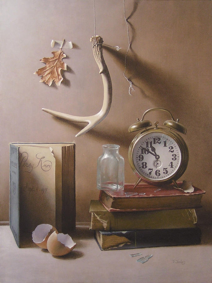 Time Painting - Tempus Fugit by Timothy Jones