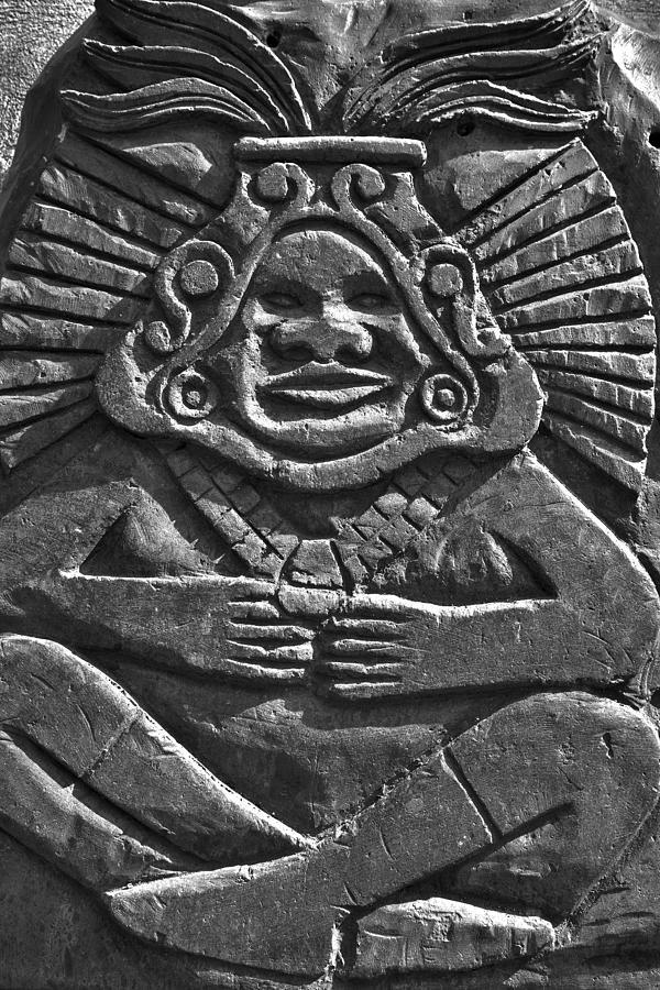 Carving Photograph - Tenancingos Malinche by John  Bartosik