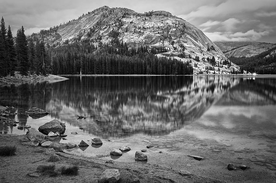 Tenaya Lake in Yosemite in BW by Joseph Urbaszewski