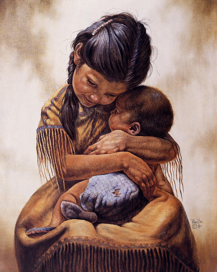 Tender Love Painting by Gregory Perillo