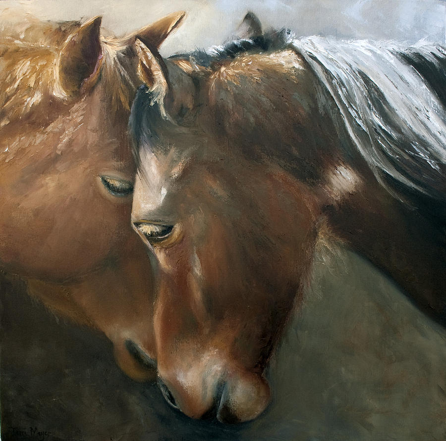 Tenderness Painting by Terri  Meyer
