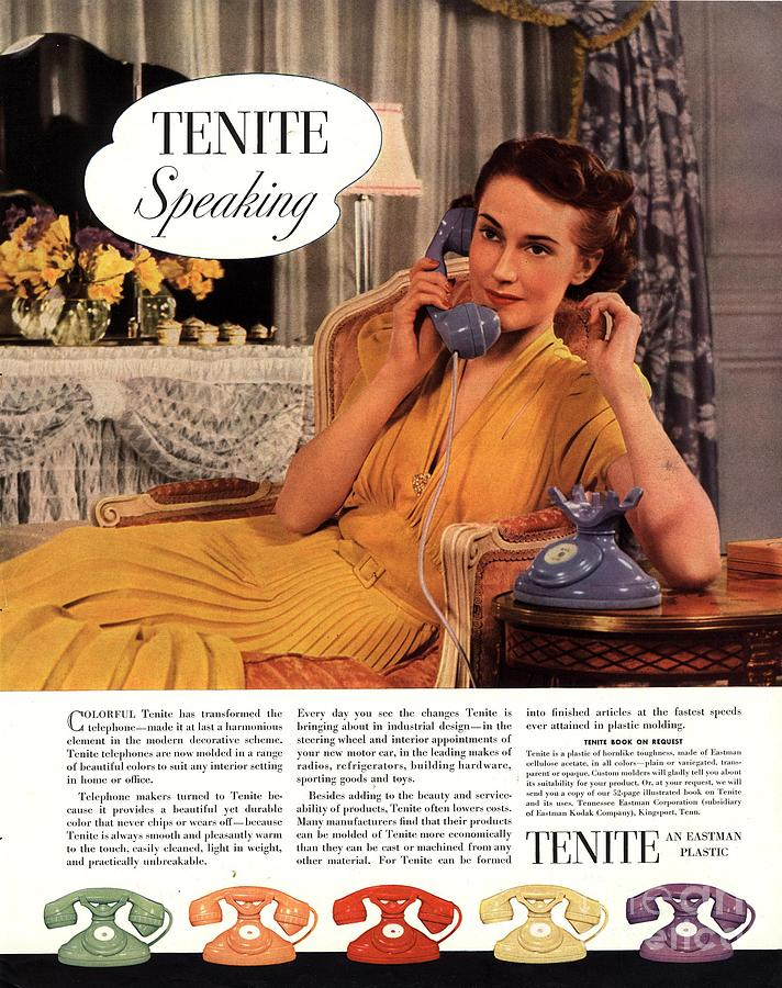 1930s Drawing - Tenite 1930s Usa by The Advertising Archives