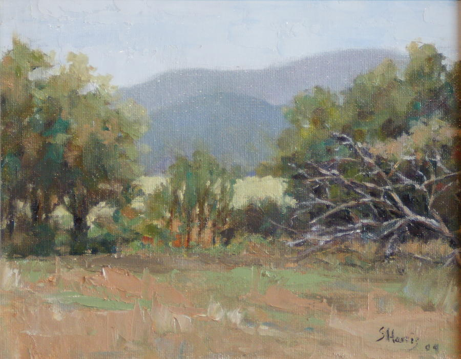 Landscape Painting - Tennessee Morning by Sandra Harris