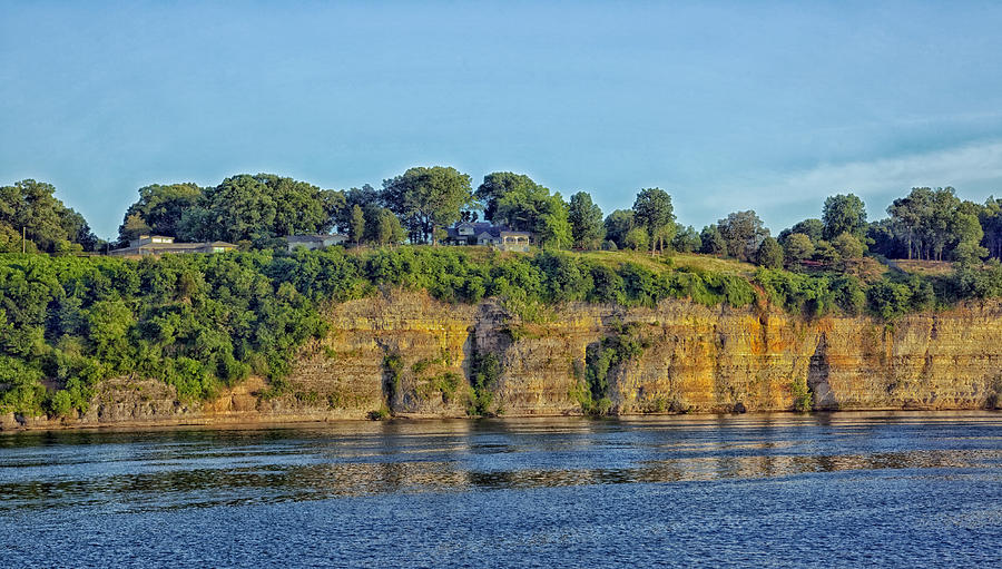 Tennessee River Photograph - Tennessee River Cliffs by Mountain Dreams