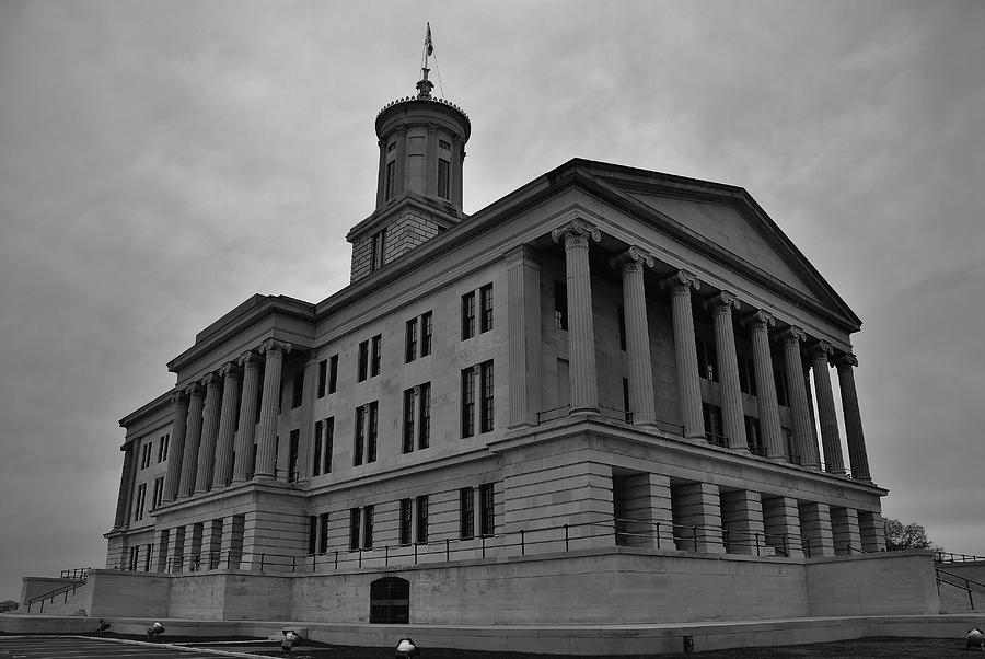 Nashville Photograph - Tennessee State Capitol Building by Steven Richman