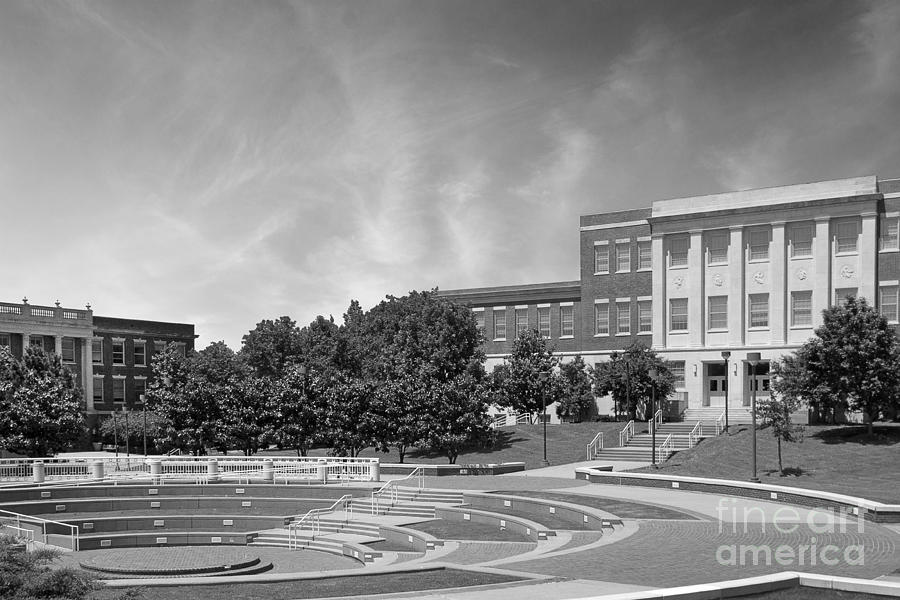 Normal School Photograph - Tennessee State University Averitte Amphitheater by University Icons