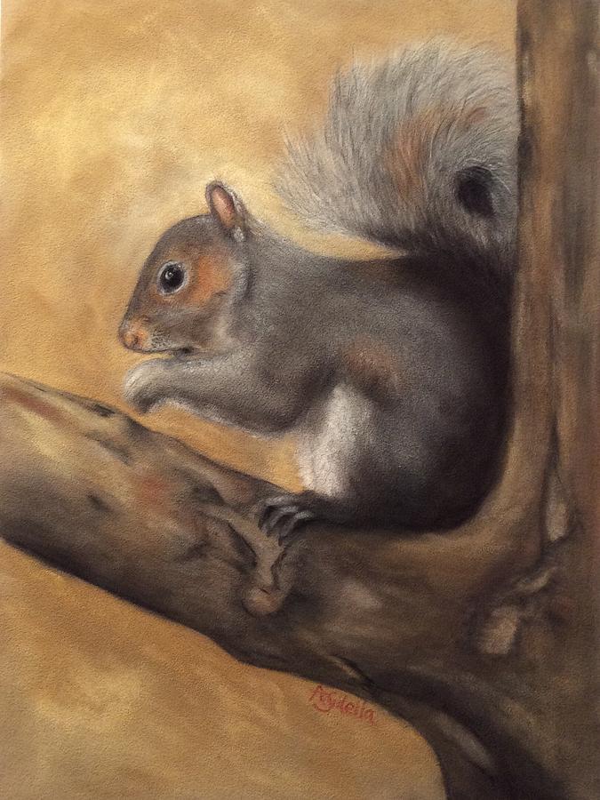 Tennessee Wildlife - Gray Squirrels by Annamarie Sidella-Felts