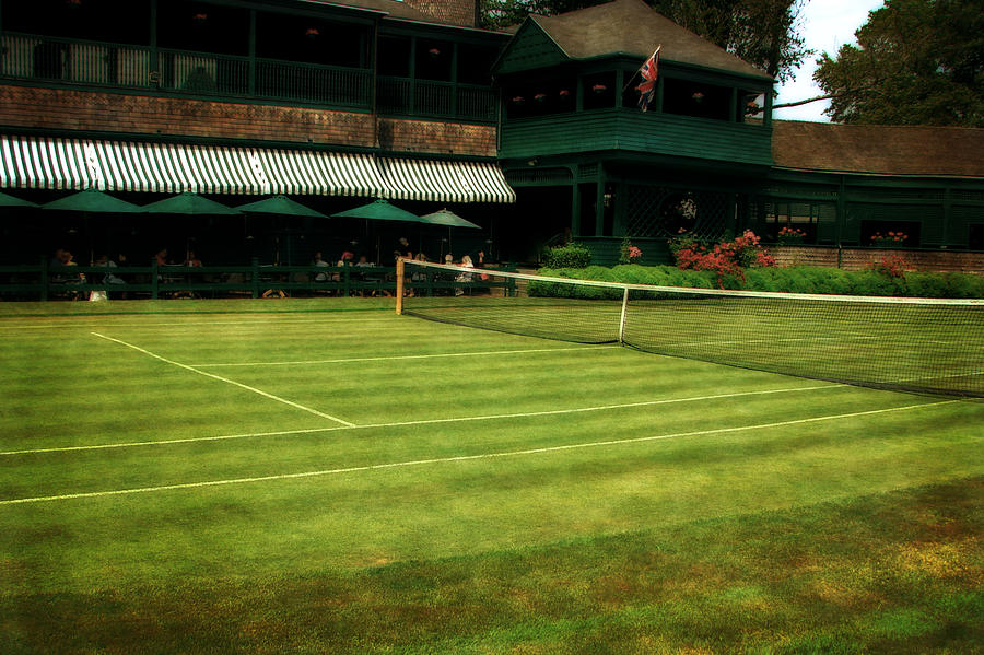 Tennis Court Photograph - Tennis Hall Of Fame 2.0 by Michelle Calkins