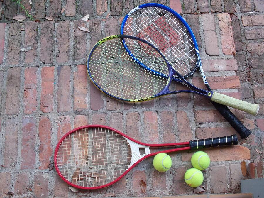 Tennis Time Photograph by Annette Allman