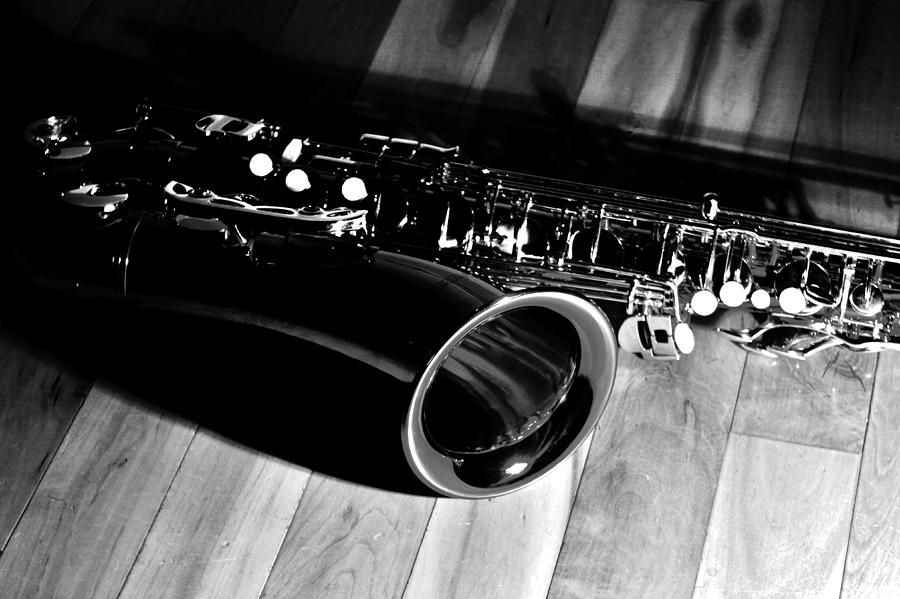 Saxophone Photograph - Tenor Sax by Benjamin Yeager