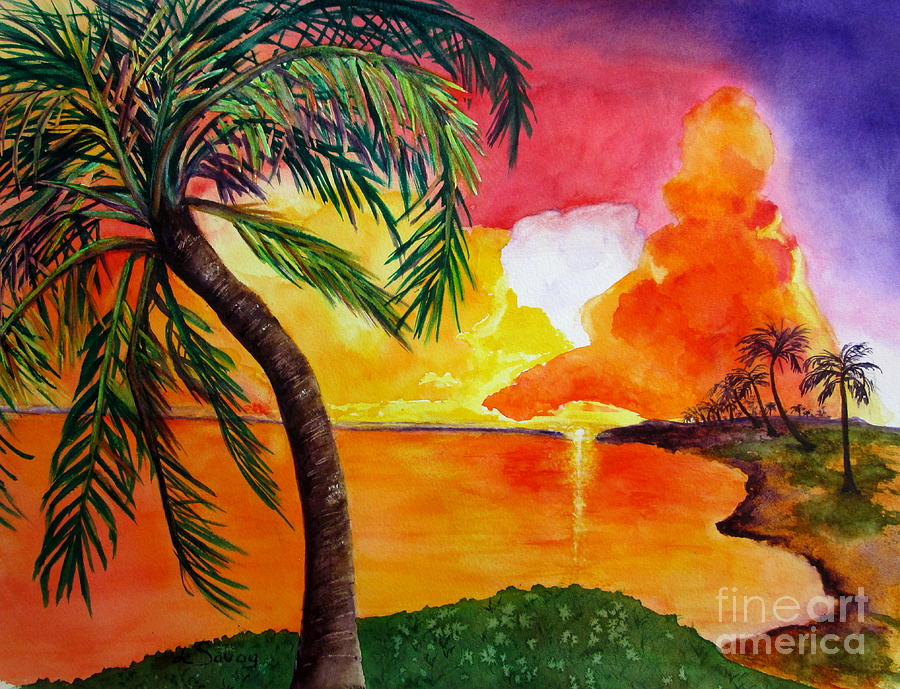 Tequila Sunset by Diane DeSavoy
