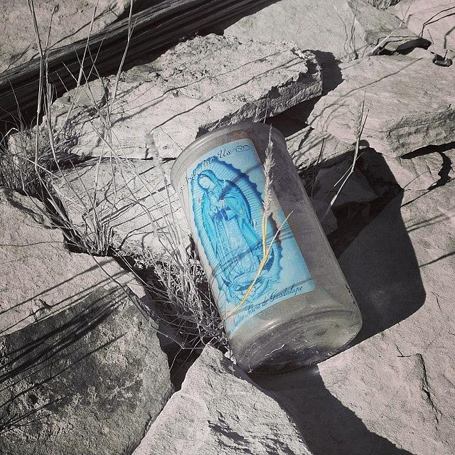 Candle Photograph - Terlingua #terlingua by Gia Marie Houck