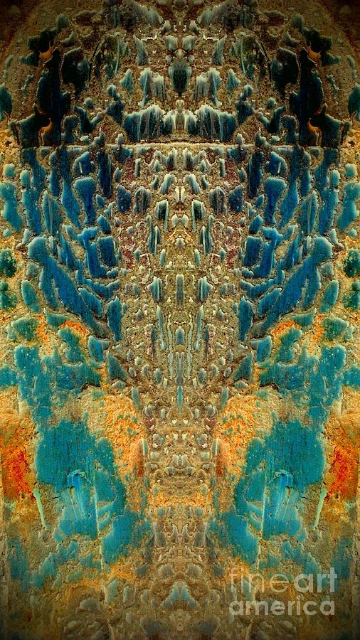 Abstract Photograph - Termite Damage by Karen Newell