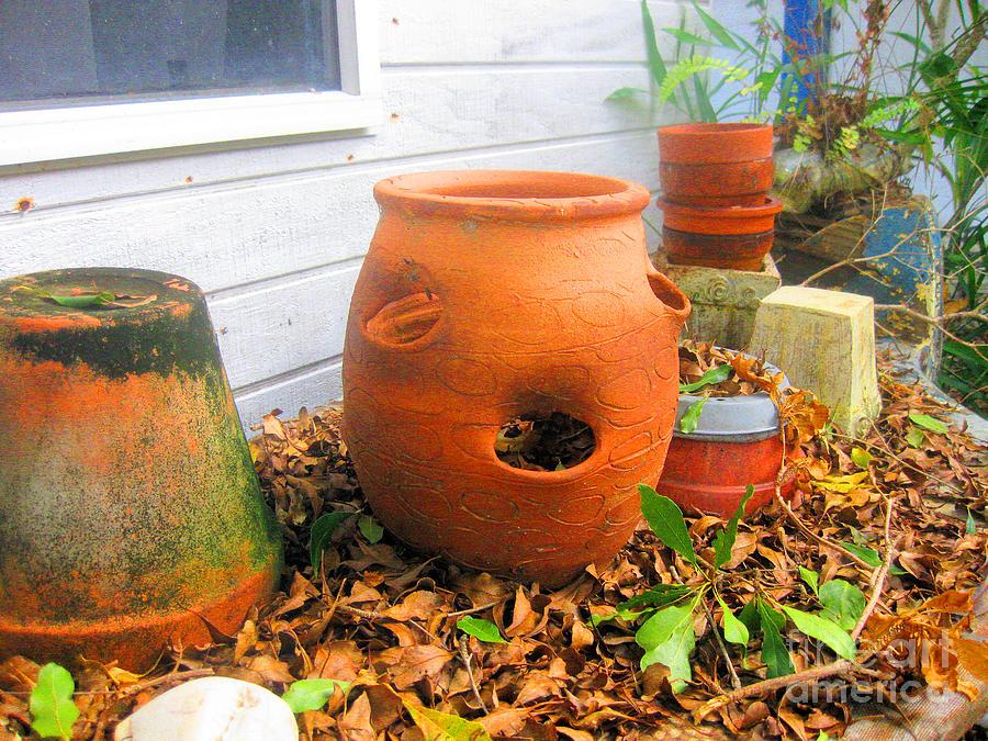 Terra Cotta Pots by Sonia Flores Ruiz