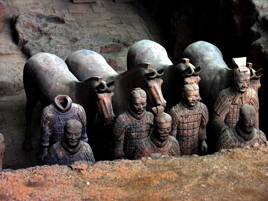 Terra Cotta Warriors Xiang China Photograph by Jacqueline M Lewis