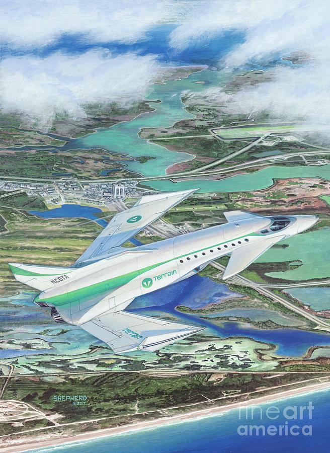 Aircraft Painting - Terrain Wyvern by Stu Shepherd