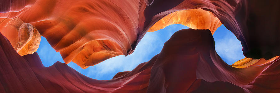 Antelope Canyon Photograph - Terraquest - Craigbill.com - Open Edition by Craig Bill