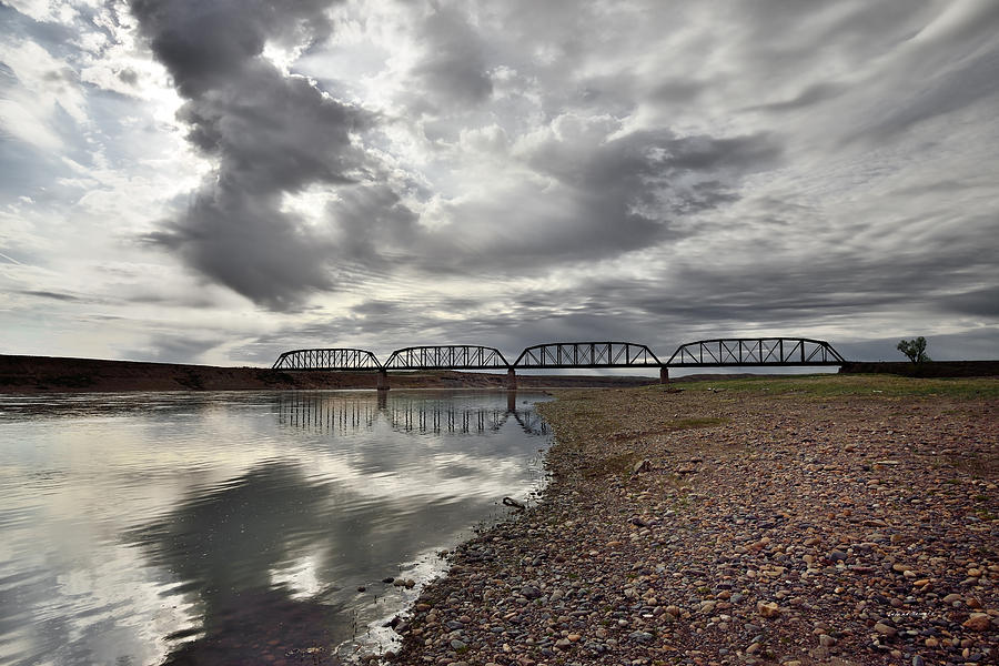 Beauty Photograph - Terry Bridge by Leland D Howard