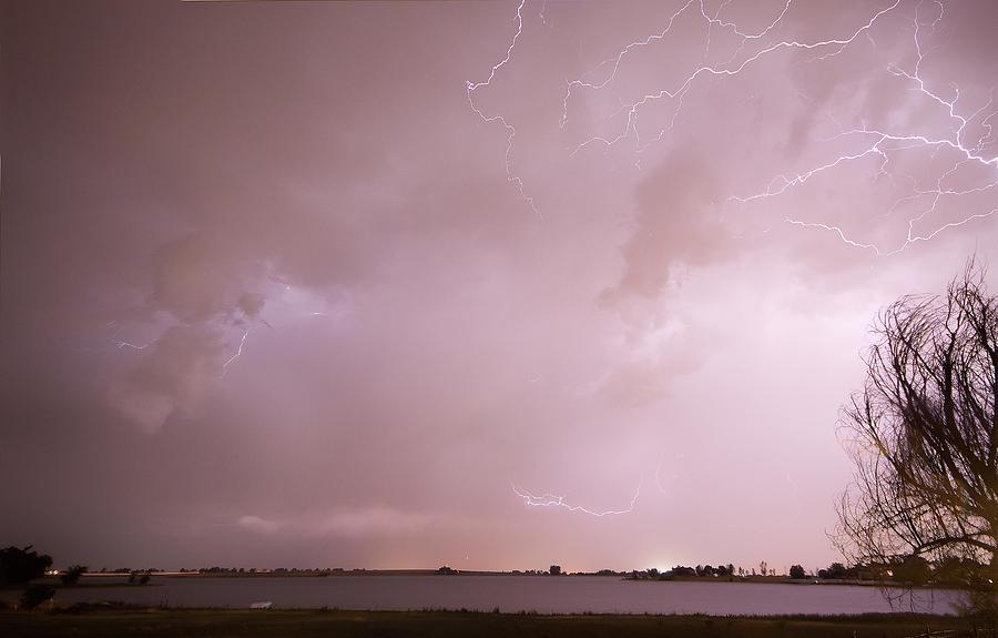 Lightning Photograph - Terry Lake Lightning Thunderstorm by James BO  Insogna