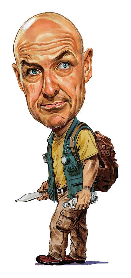 John Locke Painting - Terry Oquinn As John Locke by Art
