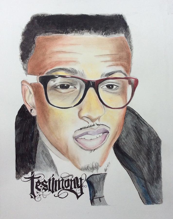 Portrait Drawing - Testimony by Ashley Williams