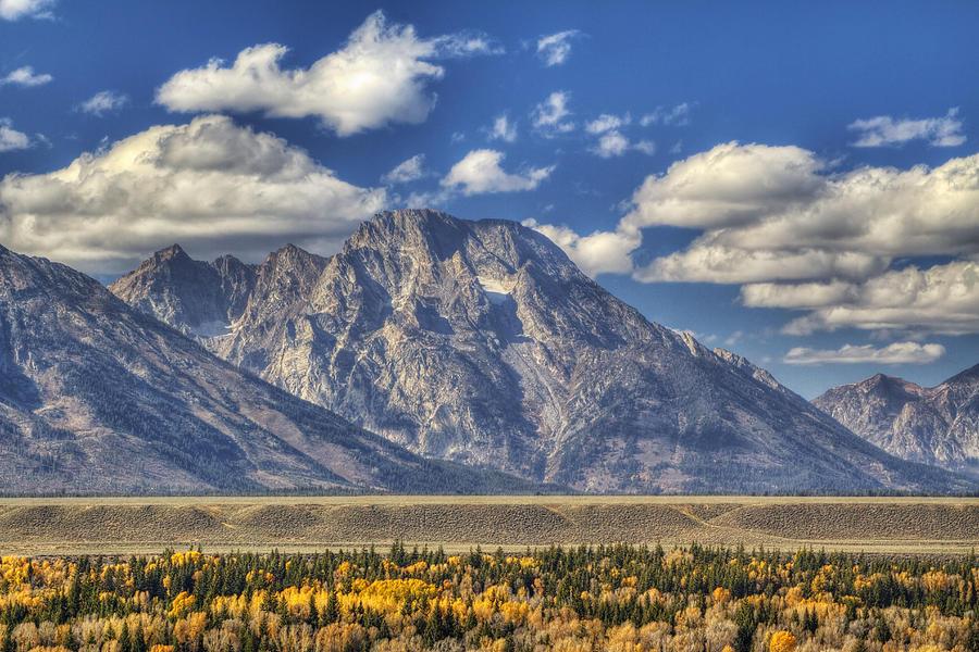 Autumn Photograph - Teton Glory by Mark Kiver