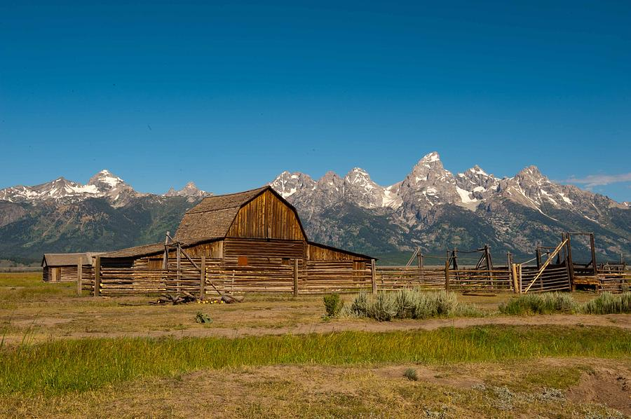 Teton Homestead by Keith Swango