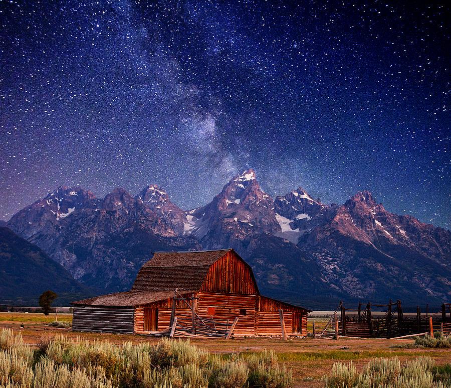 Teton Nights Photograph