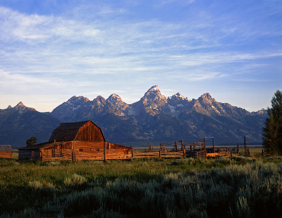 Ranch Photograph - Teton Ranch Autumn by Mike Norton