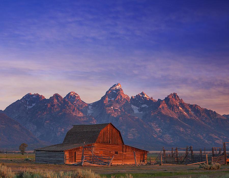 Teton Sunrise Photograph