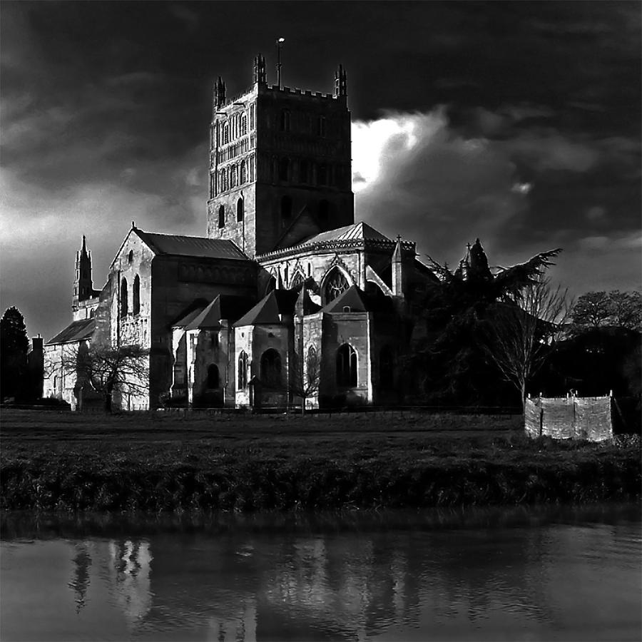Architecture Photograph - Tewkesbury Abbey by Martin Billings