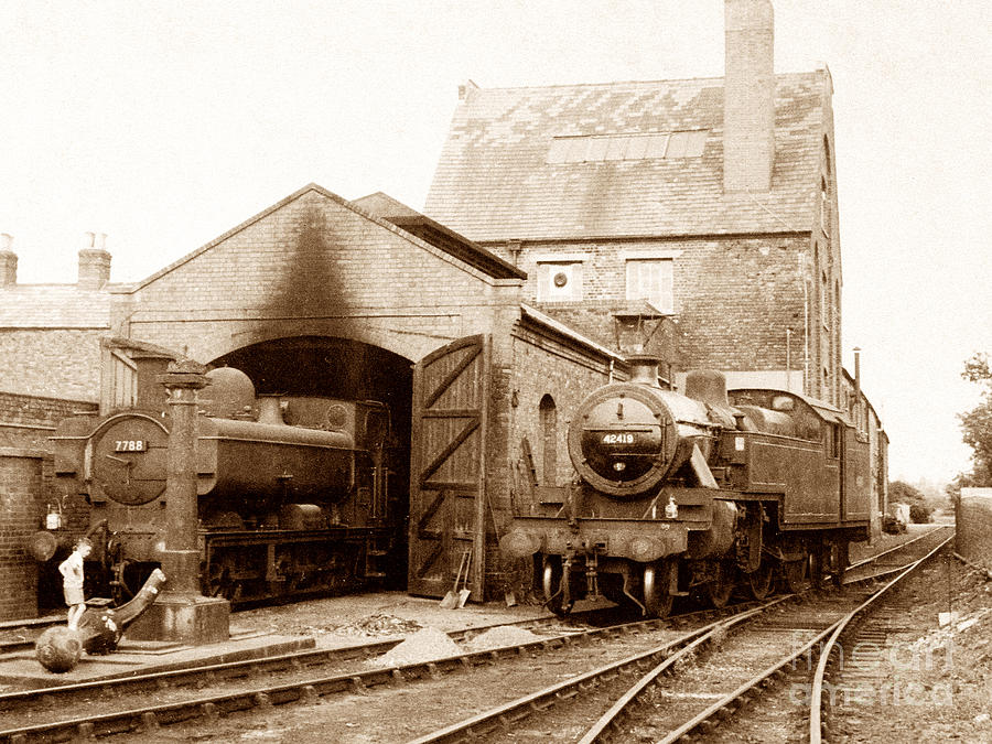 Tewkesbury Engine Shed England Photograph by The Keasbury-Gordon Photograph Archive