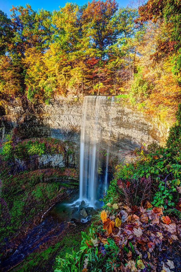 Autumn Photograph - Tews Falls by Craig Brown