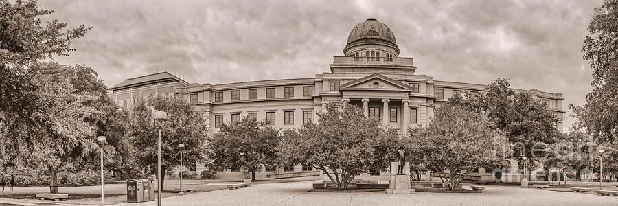 Texas A & M Photograph - Texas A And M Academic Plaza - College Station Texas by Silvio Ligutti