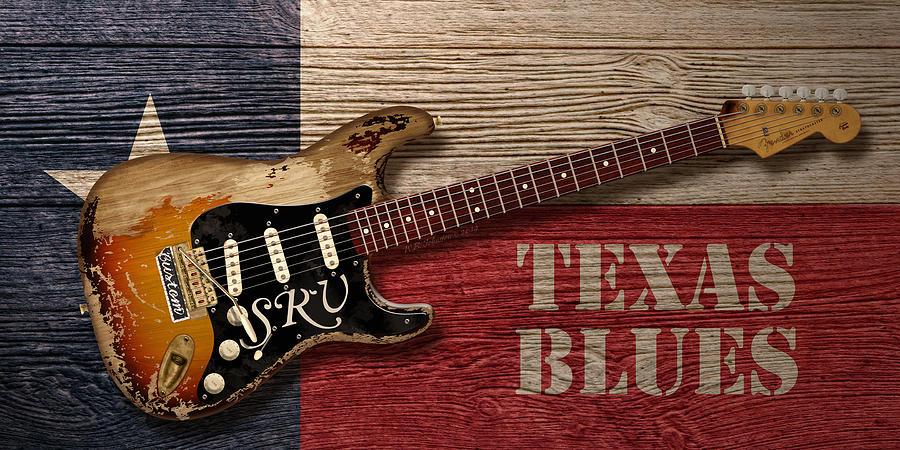 Blues Digital Art - Texas Blues by WB Johnston