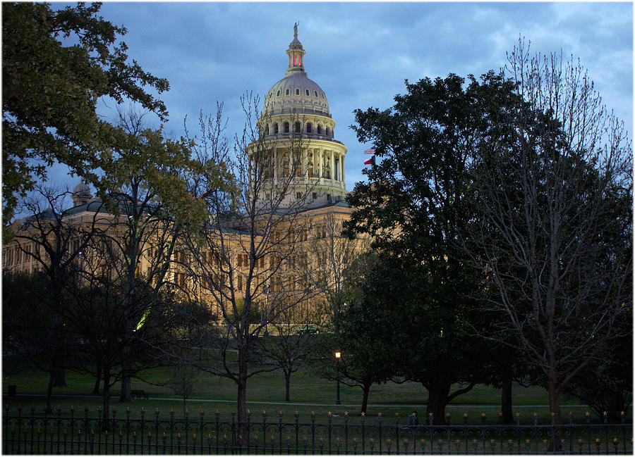 Texas Photograph - Texas Capitol by Valerie Loop
