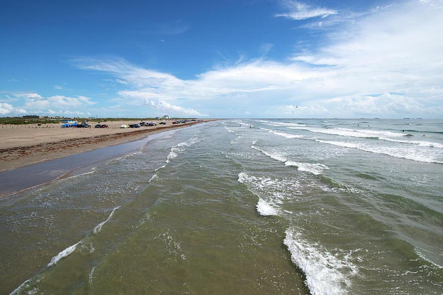 Texas Coast, Port Aransas, Texas Photograph by Olga Melhiser Photography
