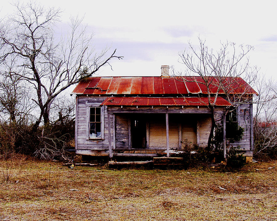Photo Photograph - Texas Duplex by James Granberry