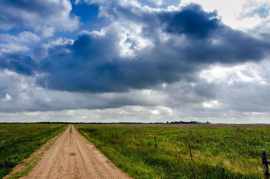 Landscape Photograph - Texas Flat by Don L Williams