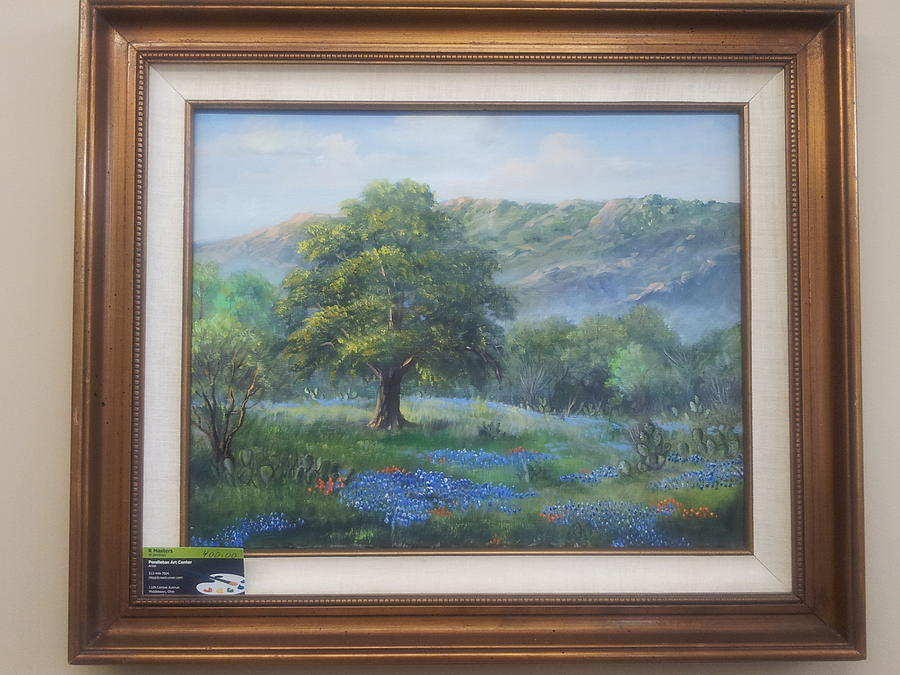 13124a70370 Texas Hill Country Painting by R Masters